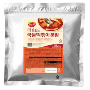 [동원홈푸드] 더맛있는 국물떡볶이 분말 500g