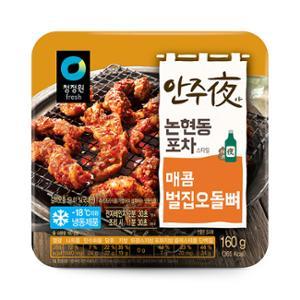 [대상] 안주야 매콤벌집오돌 160g(단양)