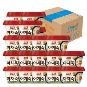 [동원] 양반 야채죽 285g*24개 (1box