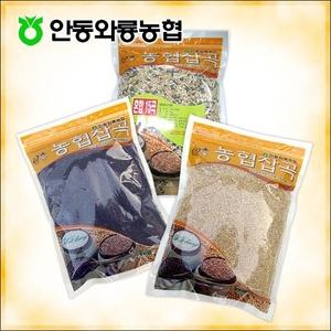 [안동와룡농협] 영양만점 혼합 잡곡 3kg 11호 (혼합15곡+현미+찰흑미)