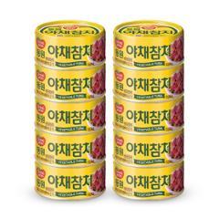 [동원] 야채참치 100g*10캔