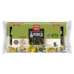 [동원] 양반 올리브김 식탁김 10매*9봉