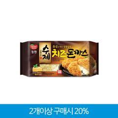[다다익선][동원] 수제치즈돈까스 480g(4입) /자연산 모짜렐라 치즈가 듬뿍!