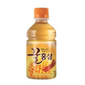 ★브랜드특가/무료배송★[웅진]꿀홍삼 280㎖×24 PET