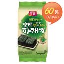 [동원] 양반 파래김 식탁김 10매*12봉* 5세트/총60봉