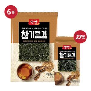 [동원] 양반 참기름김 식탁김 27봉+전장김 6봉