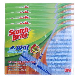 [3M] 스카치브라이트 스위퍼키트용 초극세사청소포 5매