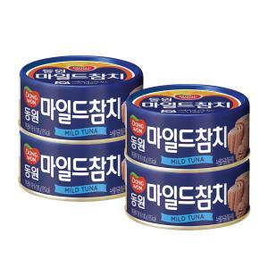 [동원] 마일드참치 100g*4개