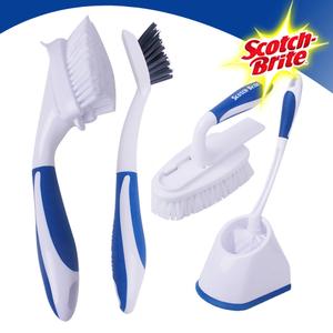 [3M]  욕실청소용품 필수구비 브러쉬 알뜰세트(변기브러쉬+타일및틈새브러쉬+다용도브러쉬+핸디브러쉬 각1개)