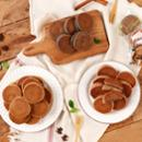 [황금보리] 순수 국내산 보리로 만든 찰보리빵 40개입 (개당30g) / 무료배송