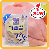 [마니커] IQF 닭가슴살 3kg