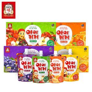 정관장 아이키커 포도 100ml*10개 / 과즙20% 홍삼함유 어린이음료