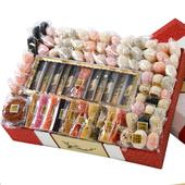 [전주유과] 큰바구니 한과선물세트 (3단)