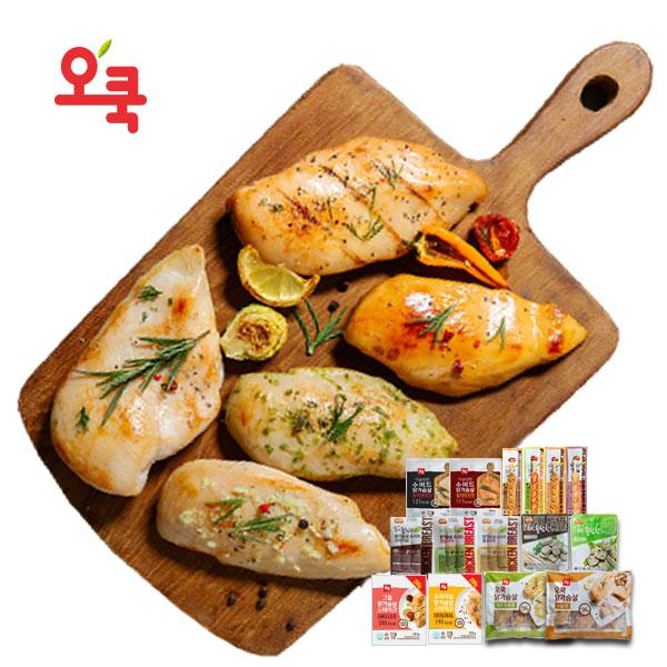 [한정★특가]오쿡 그릴 닭가슴살 3kg (200gx15팩)