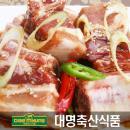 ★위클리1주일특가★[대명축산] 양념 돼지 찜갈비(1kg/수입산)