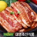 ★위클리1주일특가★[대명축산] 매콤한 양념 벌집오겹살(500g/수입산)
