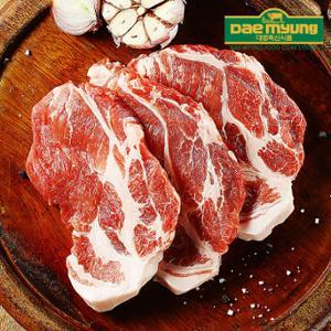 [대명축산]싱싱한 육질! 냉장 생목살 500g (구이/수육용)