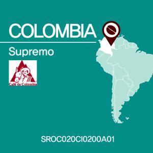 [세일즈카페] 콜롬비아 수프리모(Colombia Supremo)(SROC020CI0200A01) 200g 원두커피 당일 로스팅 원두출고
