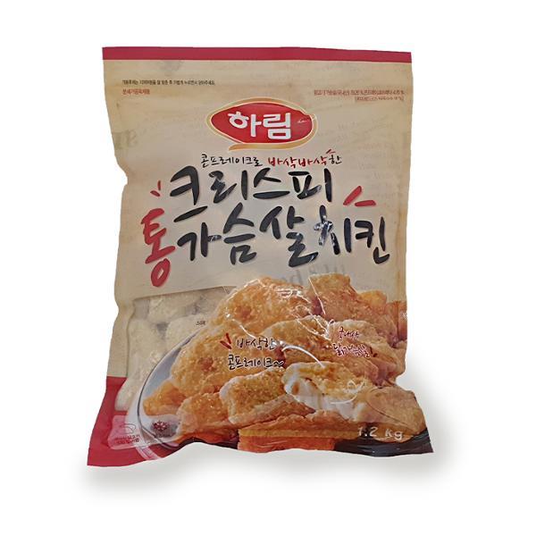 [코스트코 냉장냉동] 하림 크리스피 통가슴살 치킨 1.2kg