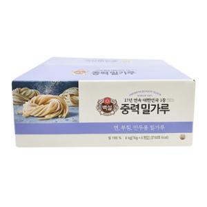 [코스트코]백설 중력 밀가루 1kg*6