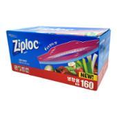 [코스트코] 지퍼락 스마트 지퍼백 대형 160매(26.8cm x 27.3cm) / ZIPLOC