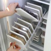 [STORYG] 센스맘 냉장고정리 고급형B (트레이(대1개) + 소분용기(대1호9p)