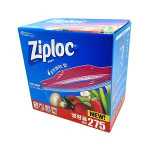 [코스트코] 지퍼락 스마트 지퍼백(중형) 17.7CM*19.5CM 275매 / ZIPLOC