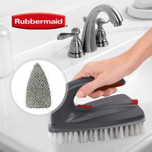 [RubberMaid] 러버메이드 2in1 손잡이 청소브러쉬 전용 리필 브러쉬헤드