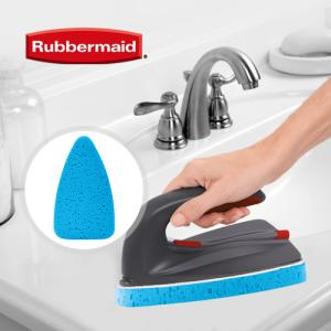 [RubberMaid] 러버메이드 2in1 손잡이 청소브러쉬 전용 리필 스폰지패드