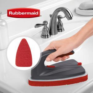 [RubberMaid] 러버메이드 2in1 손잡이 청소브러쉬 전용 리필 흠집방지패드