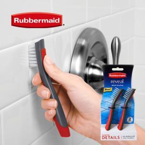 [RubberMaid] 러버메이드 디테일브러쉬 2개세트