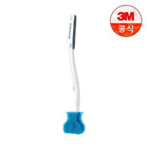 [3M]아이디어변기솔 크린스틱 더블액션 핸들 1개+리필 1개