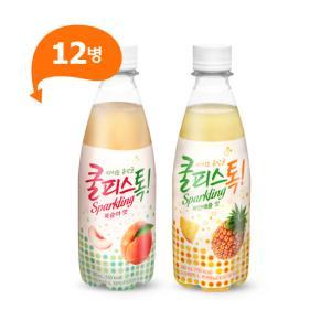 [동원] 쿨피스톡 복숭아맛*12병+파인애플맛*12병 / 총 24병