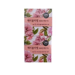 [메가마트] 온 더 바디 촉촉한 휘핑 비누90g*4개
