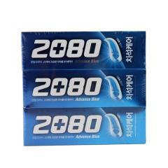 [메가마트] 2080 어드밴스 블루 120g*3개