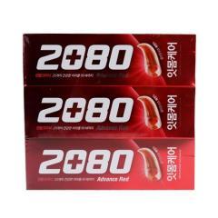 [메가마트] 2080 어드밴스 프라그 레드 120g*3개