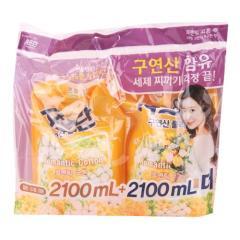 [메가마트] 샤프란 코튼앤크림 기획 2.1ℓ*2