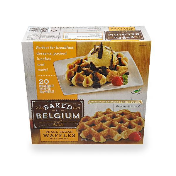 [코스트코 냉장냉동] BELFFLES 벨기에 와플 1.8KG (90G X 20CT)