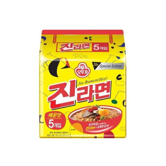 [메가마트] 오뚜기 진라면 매운맛 120g*5입
