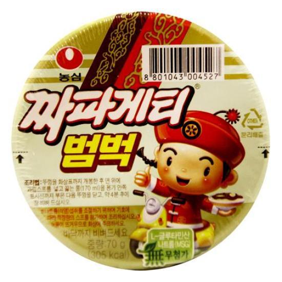 [메가마트] 농심 짜파게티 범벅 소컵 70g