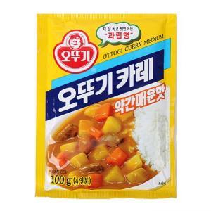 [메가마트] 카레분말(약간매운맛)100g