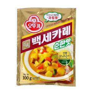 [메가마트] 백세카레(순한맛)100g