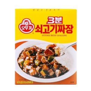 [메가마트] 오뚜기 3분 쇠고기 짜장 200g