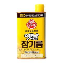 [메가마트] 오뚜기 옛날 참기름 500ml
