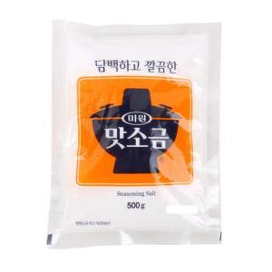 [메가마트] 대상 미원 맛소금 500g