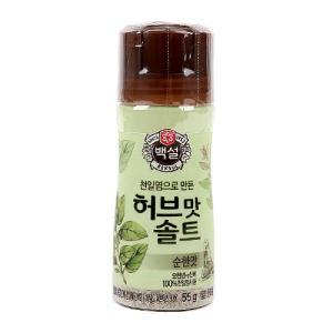 [메가마트] CJ)허브맛 솔트 순한맛55g