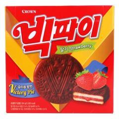 [메가마트] 크라운 빅파이 딸기 324g /1+1