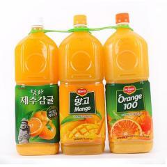 [메가마트] 롯데 델몬트(오렌지+감귤+망고) 1.8L*3