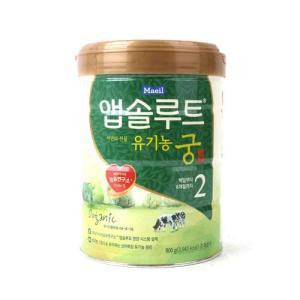 [메가마트] 매일) 앱솔루트 유기농 궁 2단계 800g