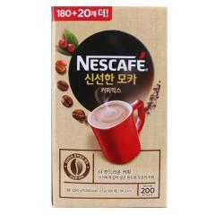 [메가마트] 네스카페 신선한 모카 커피믹스 11.7g*180개 /+20입 증정